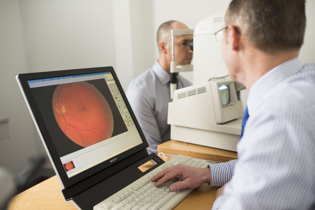 Low Vision Examination Glaucoma screening